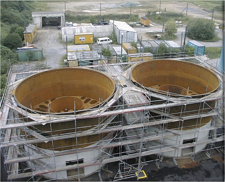 Constructionof Microflotation at BAYER AG