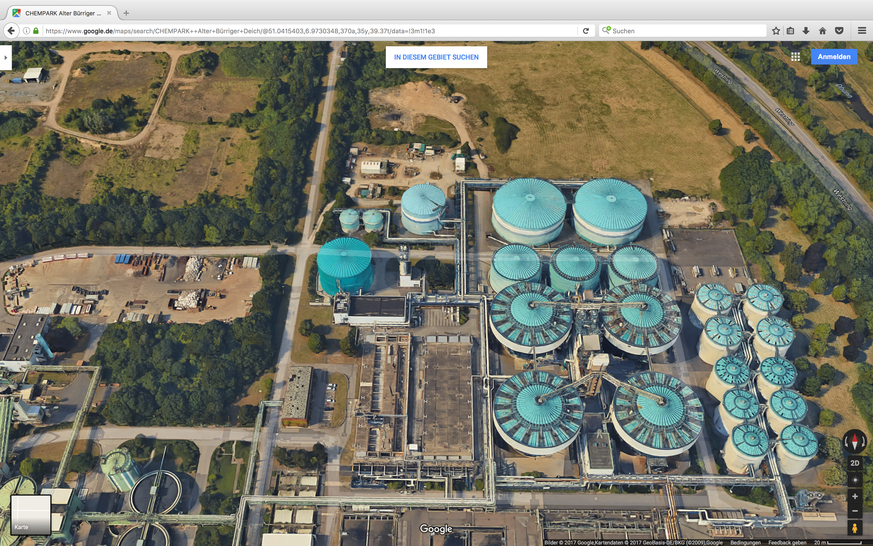 BAYER AG/ Currenta Sewage Treatment Works